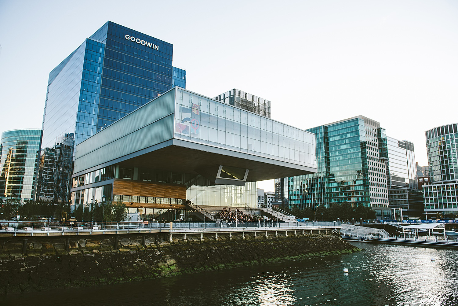 Wide view of Ica Boston